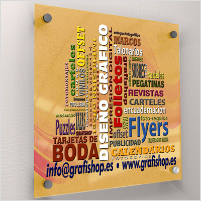 PLACA DE METACRILATO | GRAFISHOP