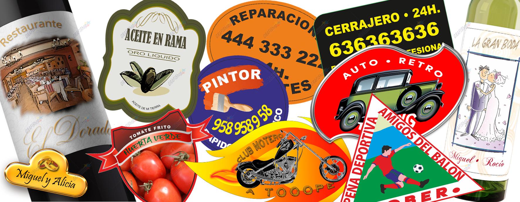 Imprimir pegatinas personalizadas grafishop granada - Pegatinas de pared baratas ...