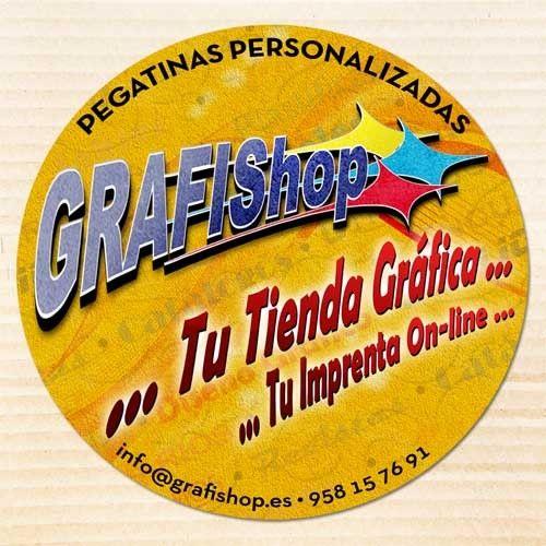 6b0c6475a Imprimir pegatinas personalizadas redondas en Granada  •