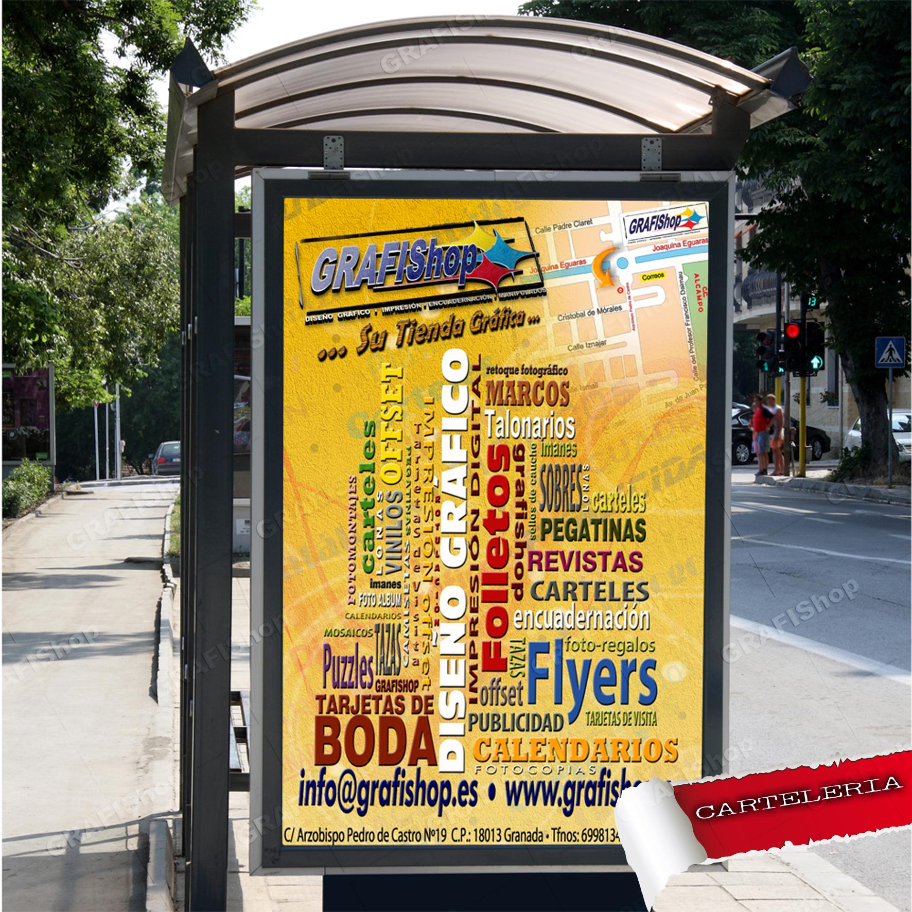 1b81709dc605e Impresión de carteles publicitarios Muppis. Grafishop es tu web ideal para  imprimir tus carteles online  Camisetas personalizadas ...